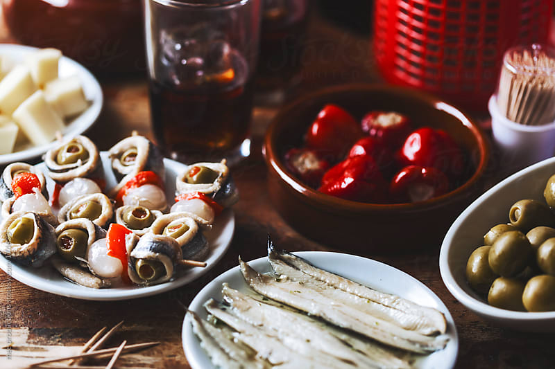 Aperitif still life. by mee productions for Stocksy United