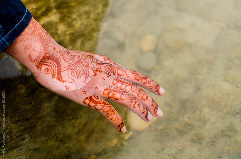 Henna and water by Agha Waseem Ahmed for Stocksy United