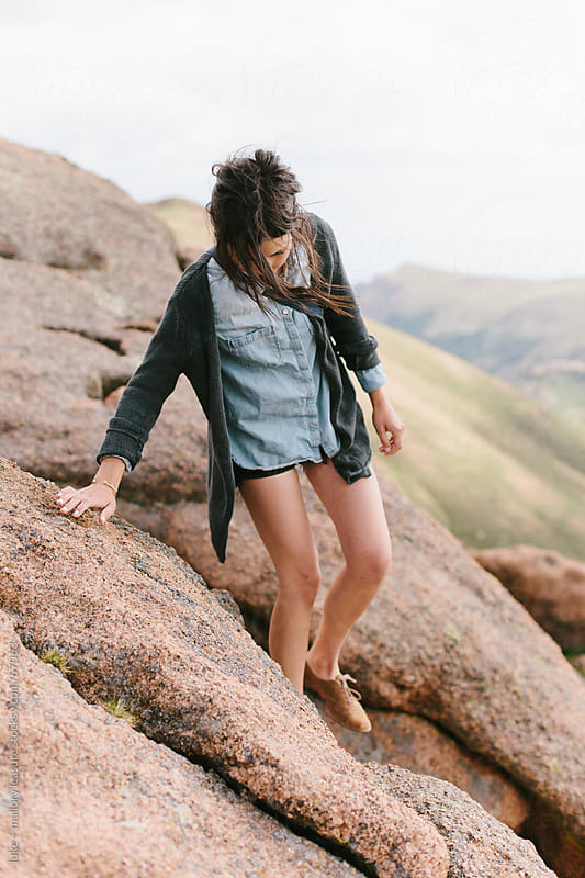 Adventure girl by luke + mallory leasure for Stocksy United