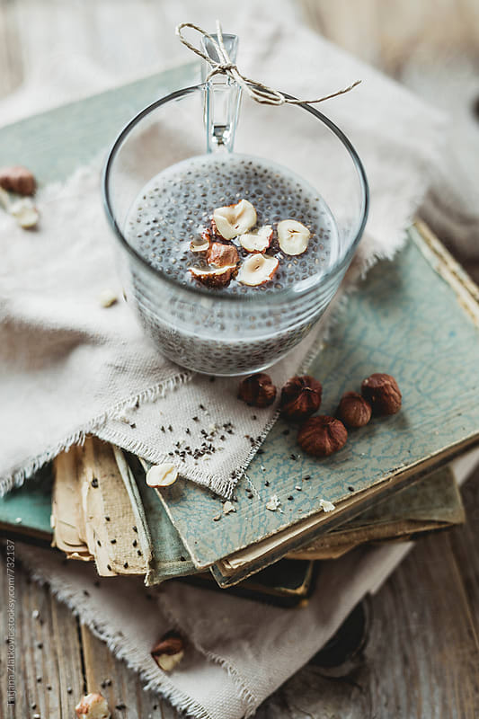 Chia pudding by Tatjana Ristanic for Stocksy United