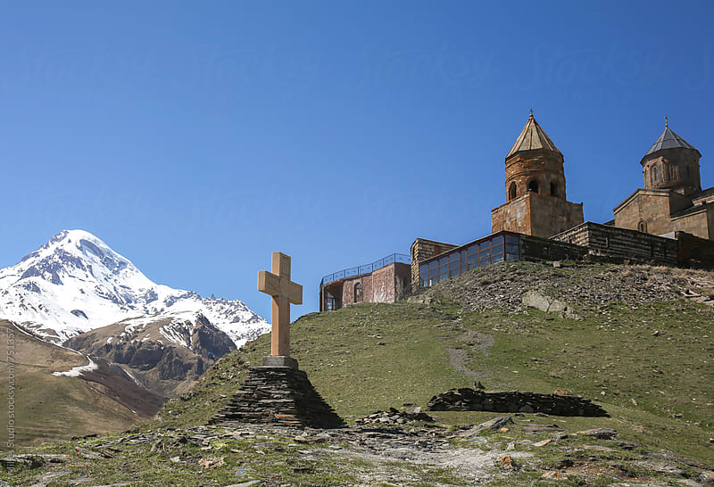 Religious place in Mountains by Milles Studio for Stocksy United