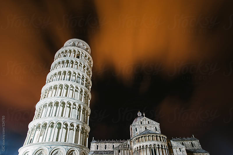 Leaning Tower of Pisa by GIC for Stocksy United