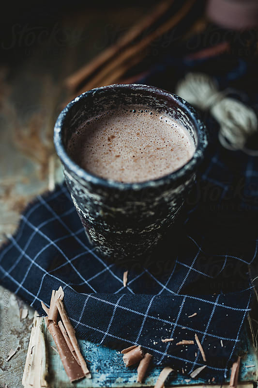 Hot chocolate by Tatjana Ristanic for Stocksy United