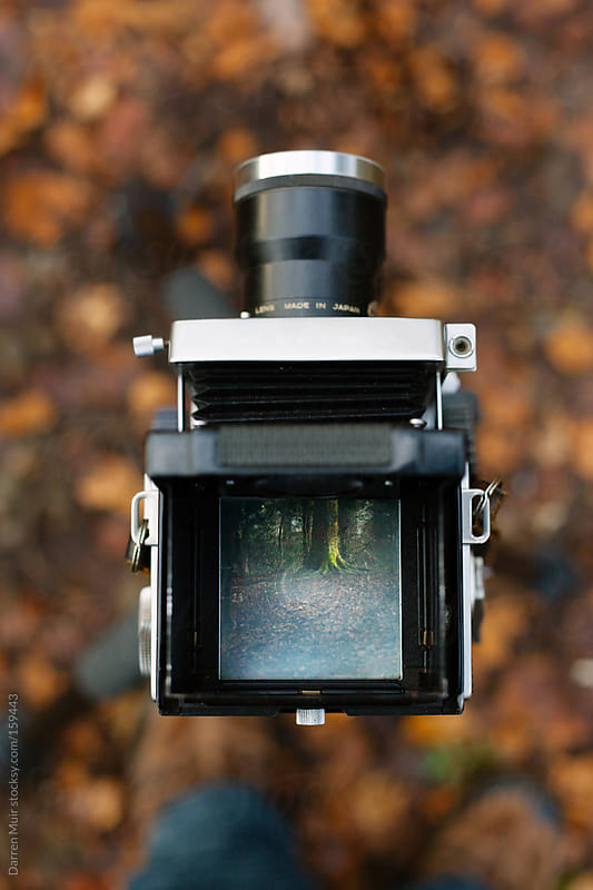 Camera in nature. by Darren Muir for Stocksy United