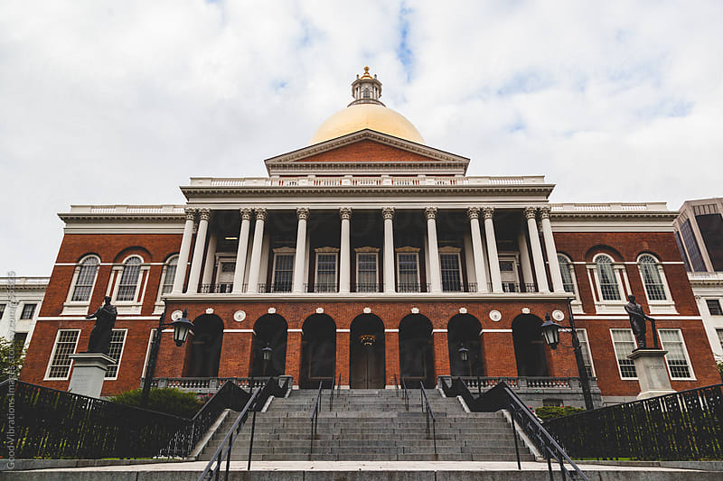 Massachusetts State House by Good Vibrations Images for Stocksy United