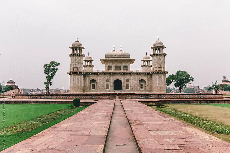 Baby Taj Mahal palace - mausoleum, Agra, India by Alejandro Moreno de Carlos for Stocksy United