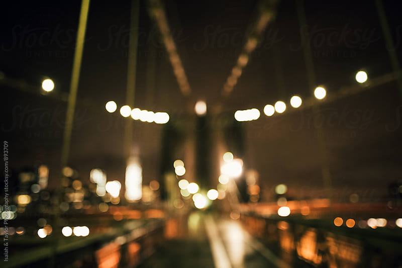 City Lights Bokeh by Isaiah & Taylor Photography for Stocksy United