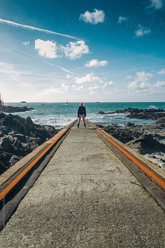Way to sea by Nicolas Cazard for Stocksy United