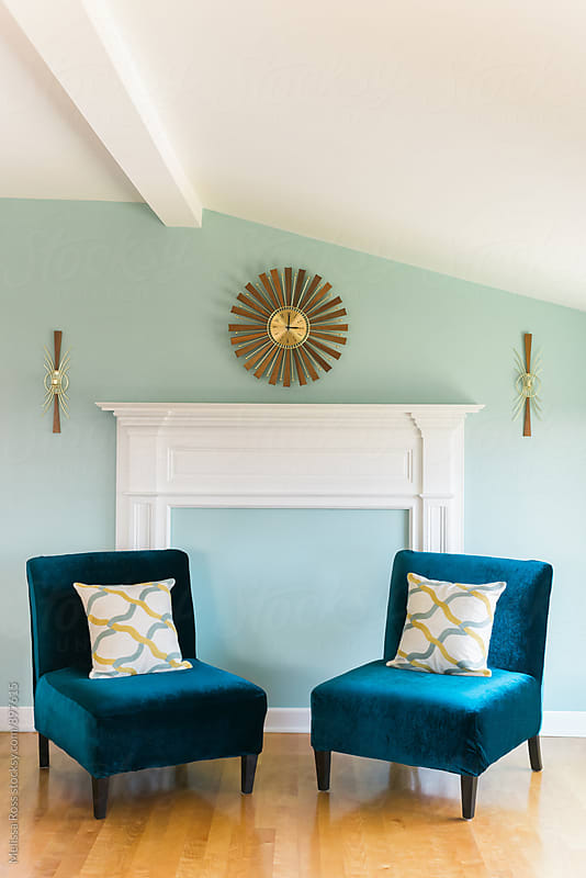 Modern sitting room. by Melissa Ross for Stocksy United