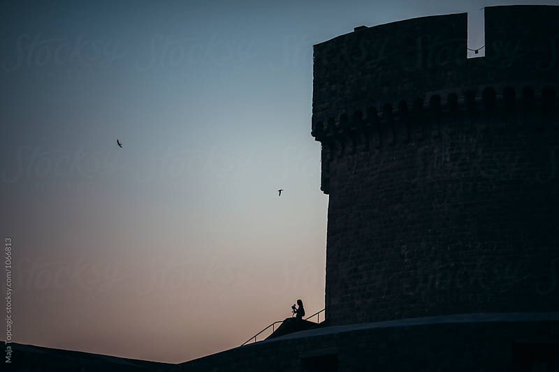 Dubrovnik old city walls by Maja Topcagic for Stocksy United