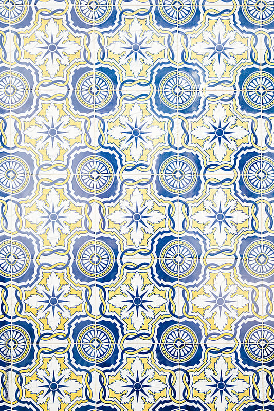 Azulejos Texture by Agencia for Stocksy United