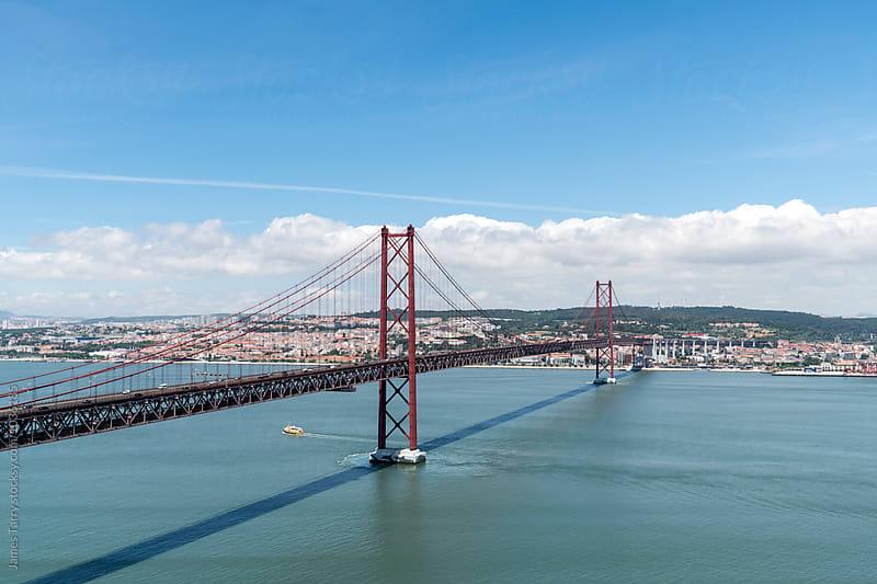 Ponte 25 de Abril bridge by James Tarry for Stocksy United