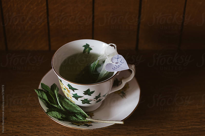 Mint tea by Helen Rushbrook for Stocksy United