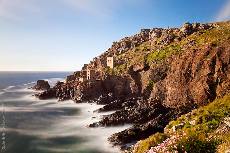 The remains of  a Tin Mine at Botallack, Cornwall, England by Gavin Hellier for Stocksy United