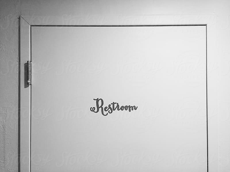 Restroom by B. Harvey for Stocksy United