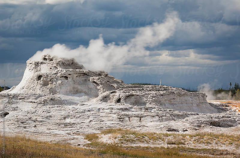 Castle Geyser, Yellowstone by Mark Windom for Stocksy United
