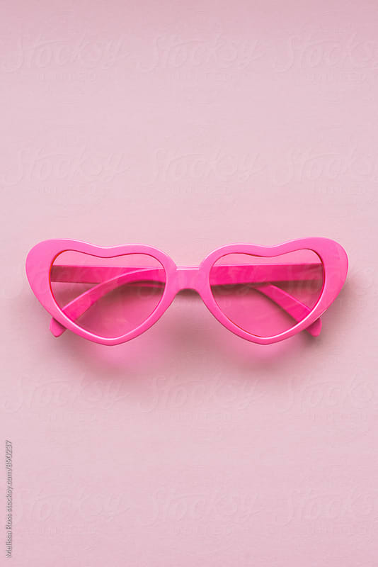 Heart shaped sunglasses by Melissa Ross for Stocksy United