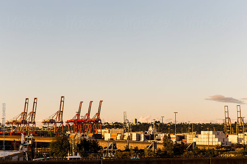 Seattle Seaport by Jayme Burrows for Stocksy United