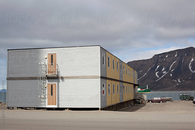 Svalbard architecture by Jelena Jojic Tomic for Stocksy United