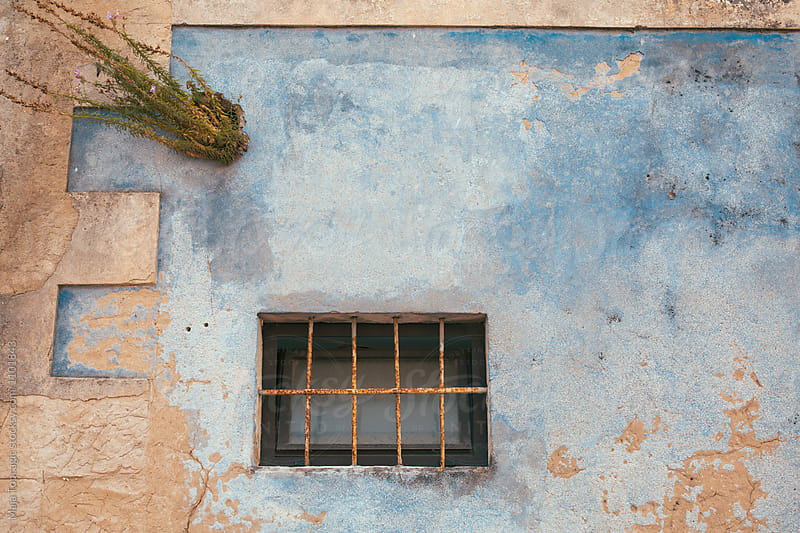 Old beautiful facade by Maja Topcagic for Stocksy United