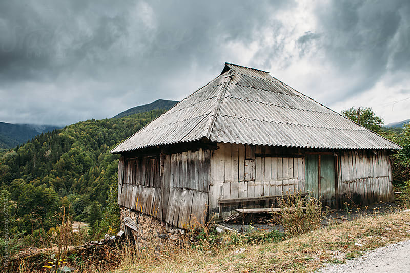 Old traditional house in mountains. by Zocky for Stocksy United