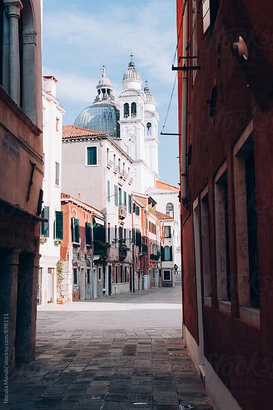 Street in Venice by Nataša Mandić for Stocksy United