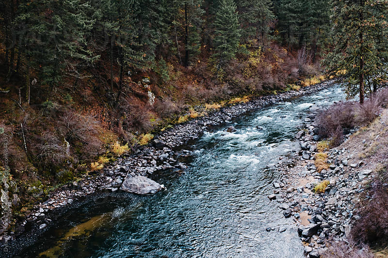 An Idaho River. by Dylan M Howell Photography for Stocksy United