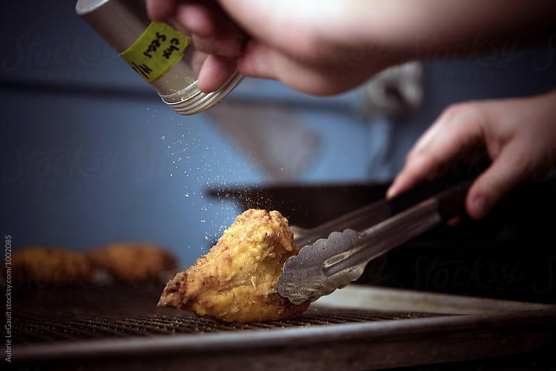 Fried Chicken by Aubrie LeGault for Stocksy United