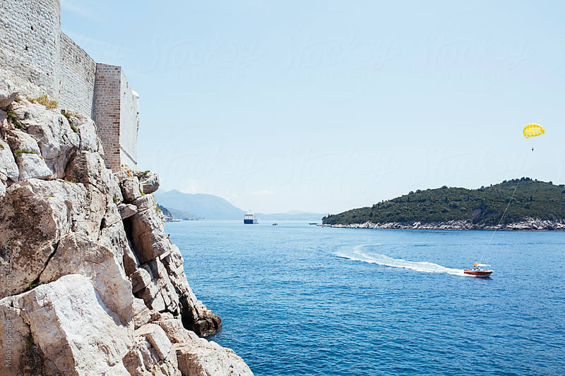Dubrovnik Old Town City Walls by Maja Topcagic for Stocksy United