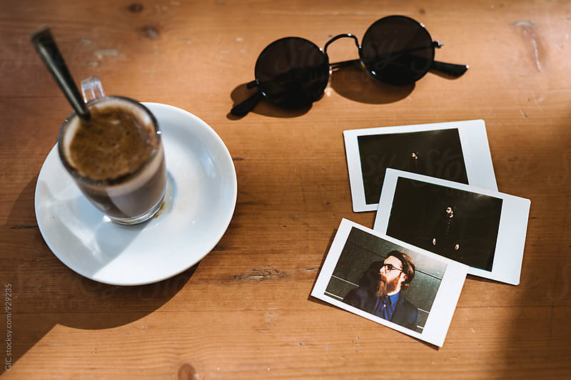 Coffee sunglasses and prints by GIC for Stocksy United