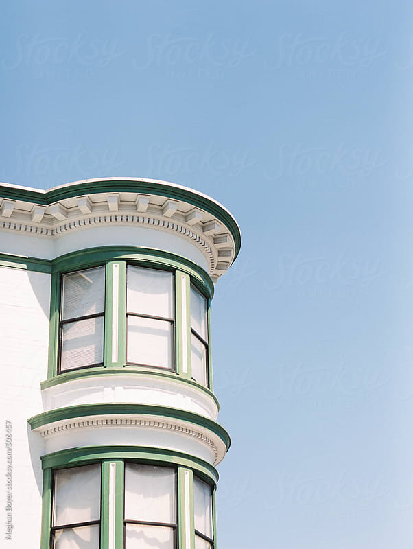 san francisco architecture by Meghan Boyer for Stocksy United