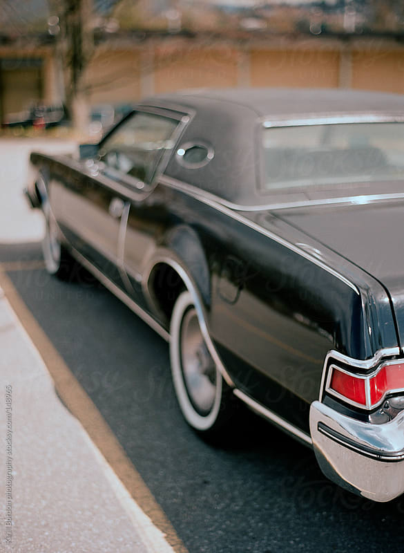 vintage limousine by Kirill Bordon photography for Stocksy United
