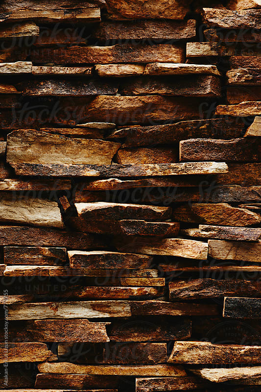 stone wall by Atakan-Erkut Uzun for Stocksy United