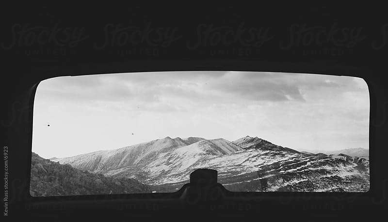 Rocky Mountain Window View by Kevin Russ for Stocksy United
