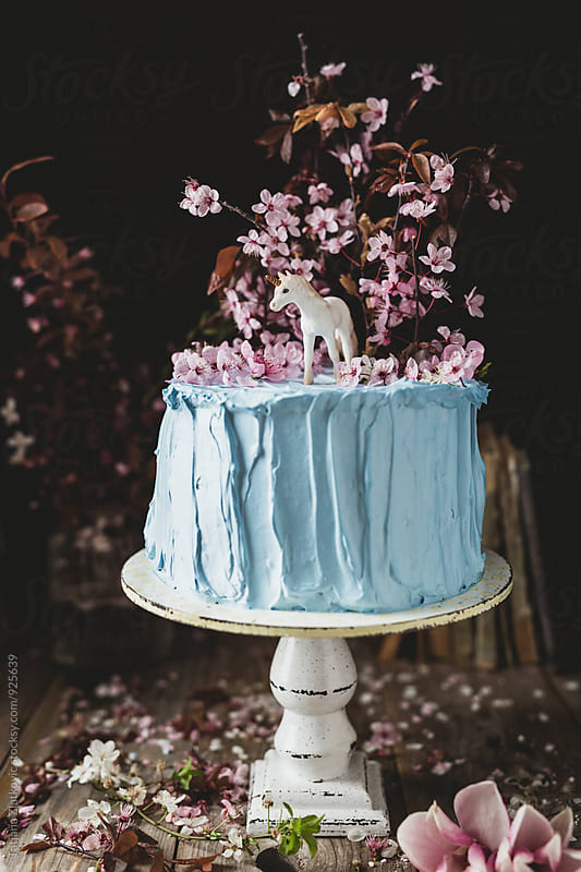 Spring cake by Tatjana Zlatkovic for Stocksy United