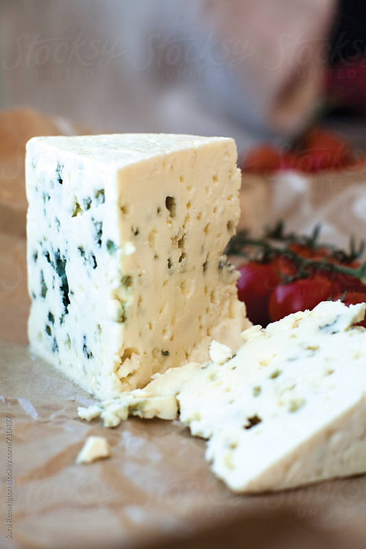 Blue Cheese by Sara Remington for Stocksy United