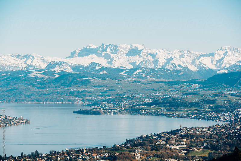 View from Uetliberg by Peter Wey for Stocksy United