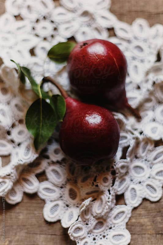 Pears still life by Natasa Kukic for Stocksy United