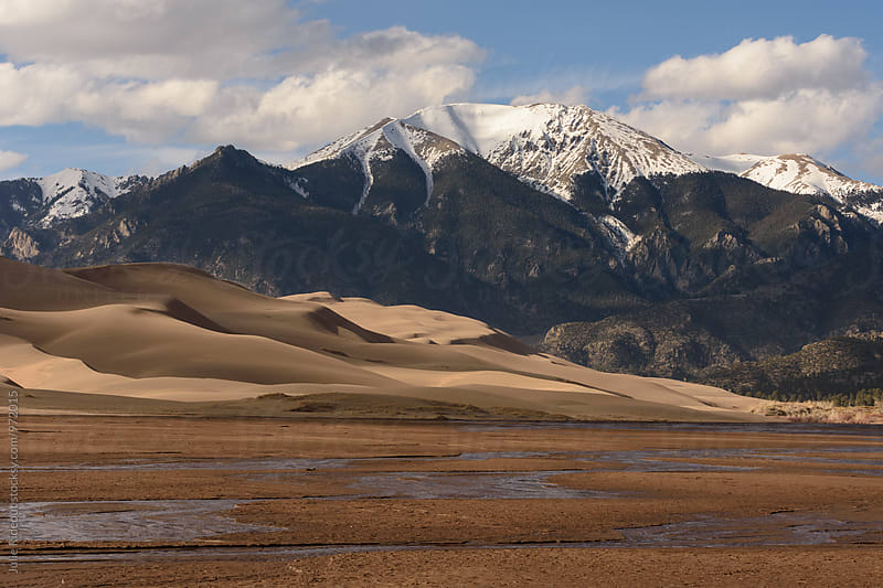 Great Sand Dunes National Park by Julie Rideout for Stocksy United