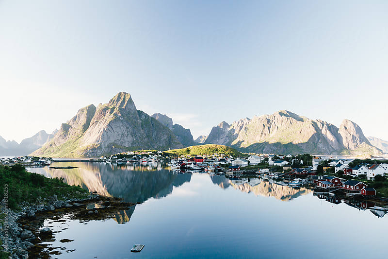 Reine, Lofoten by Agencia for Stocksy United