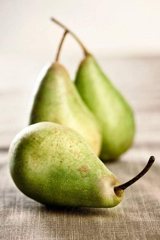 Green pears by Ina Peters for Stocksy United