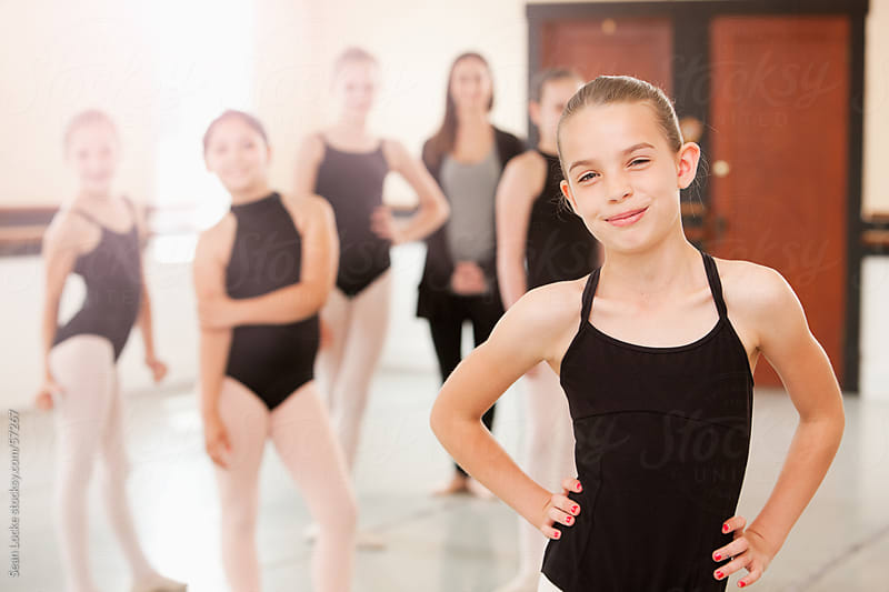 Ballet: Group of Cheerful Ballet Students by Sean Locke for Stocksy United