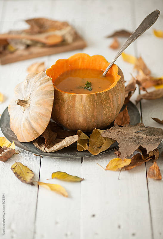 Autumn Pumpkin Soup by Lumina for Stocksy United
