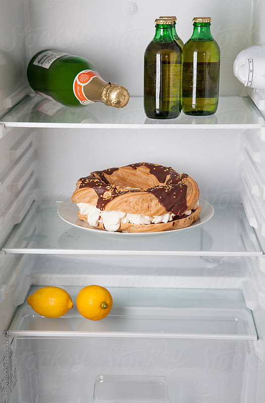 New yaer resulution fridge. by kkgas for Stocksy United