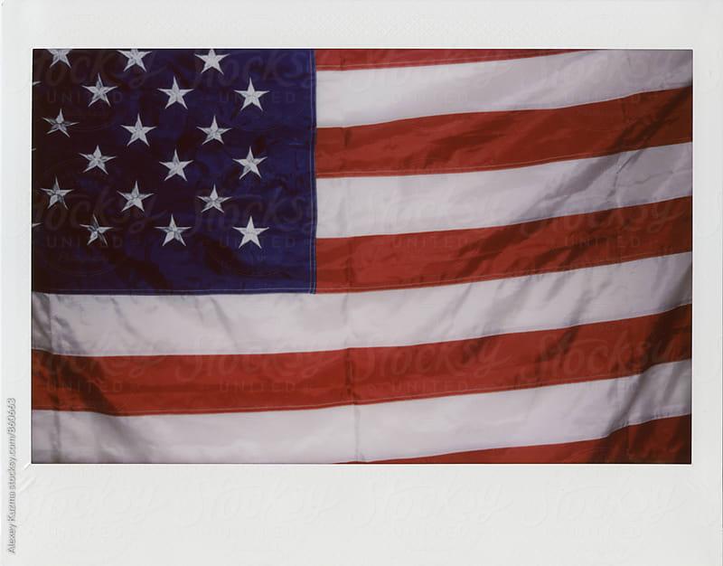 USA flag by Alexey Kuzma for Stocksy United