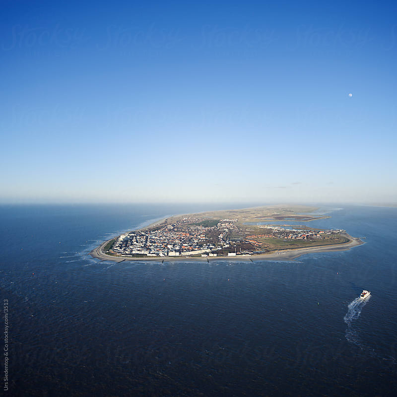 Island Norderney Bird's Eye View by Urs Siedentop & Co for Stocksy United