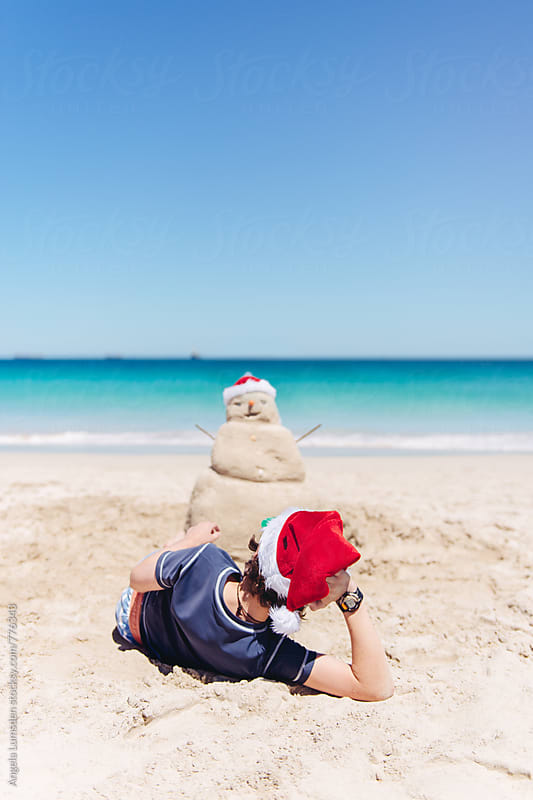 Christmas in Australia by Angela Lumsden for Stocksy United