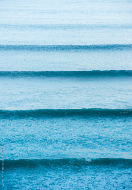 Swell Lines by craig ferguson for Stocksy United