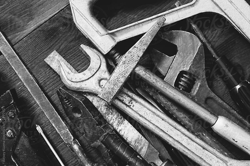 old tools by Alexey Kuzma for Stocksy United