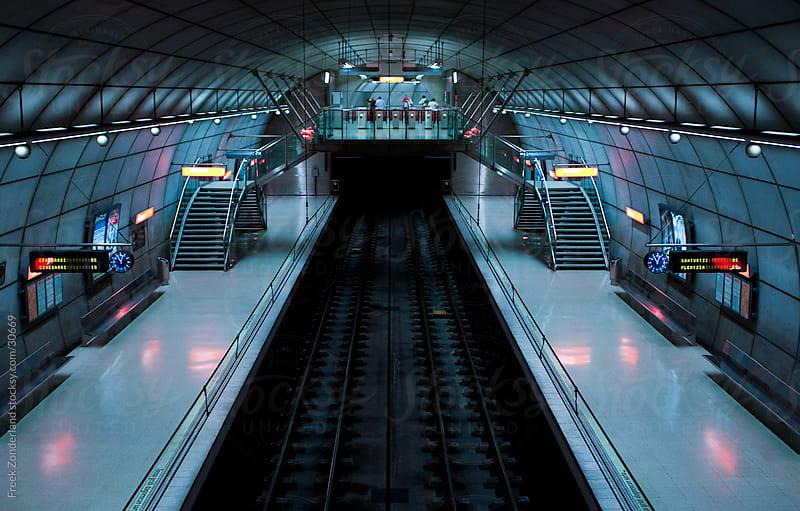 Empty Metro Station by Freek Zonderland for Stocksy United